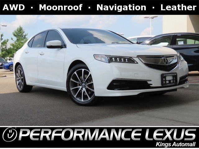 2016 Acura Tl >> Pre Owned 2016 Acura Tlx V6 Tech
